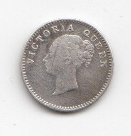 1841 Indian EIC 2 Annas