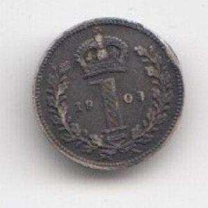 1903 King Edward Silver Maundy Penny