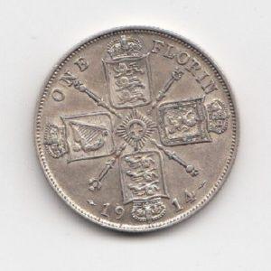1914 King George V Florin