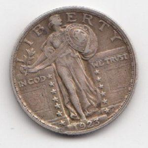 1923 US Quarter Dollar