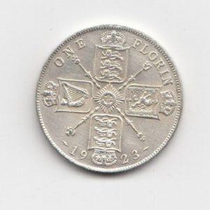 1923 King George V Silver Florin