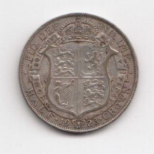 1923 King George V Half Crown