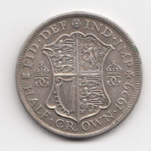1929 King George V Half Crown