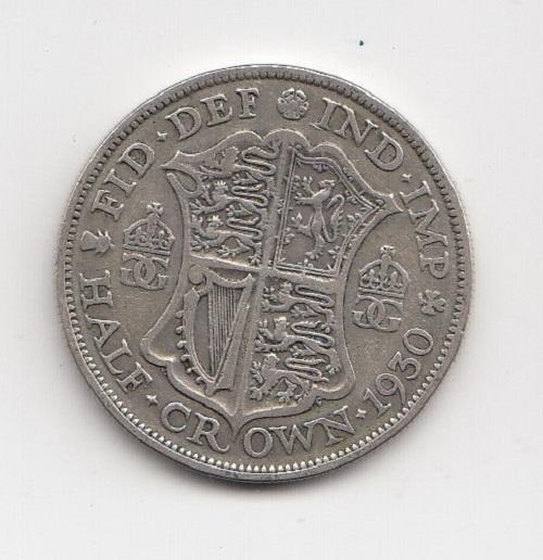 1930 King George V Half Crown