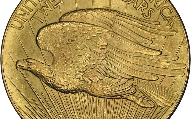1933 Gold Double Eagle Reverse