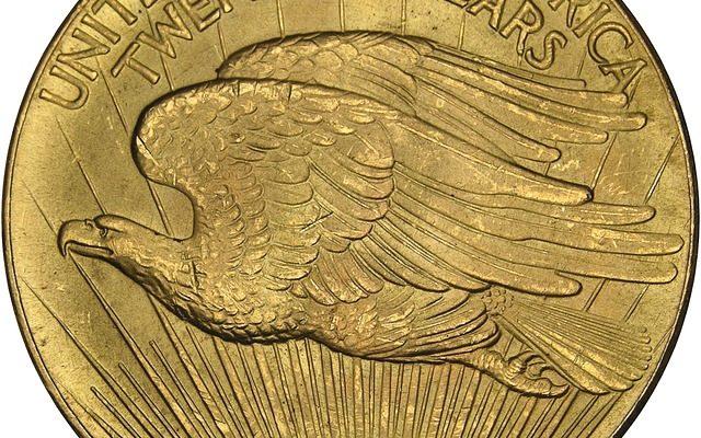 1933 Gold Double Eagle Reverse