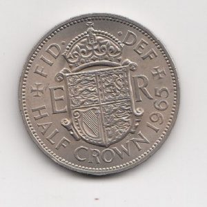 1965 Half Crown - Queen Elizabeth II