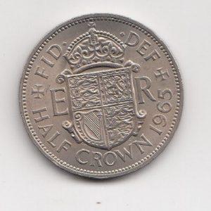 1965 Half Crown - Queen Elizabeth II