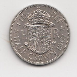 1967 Half Crown - Queen Elizabeth II