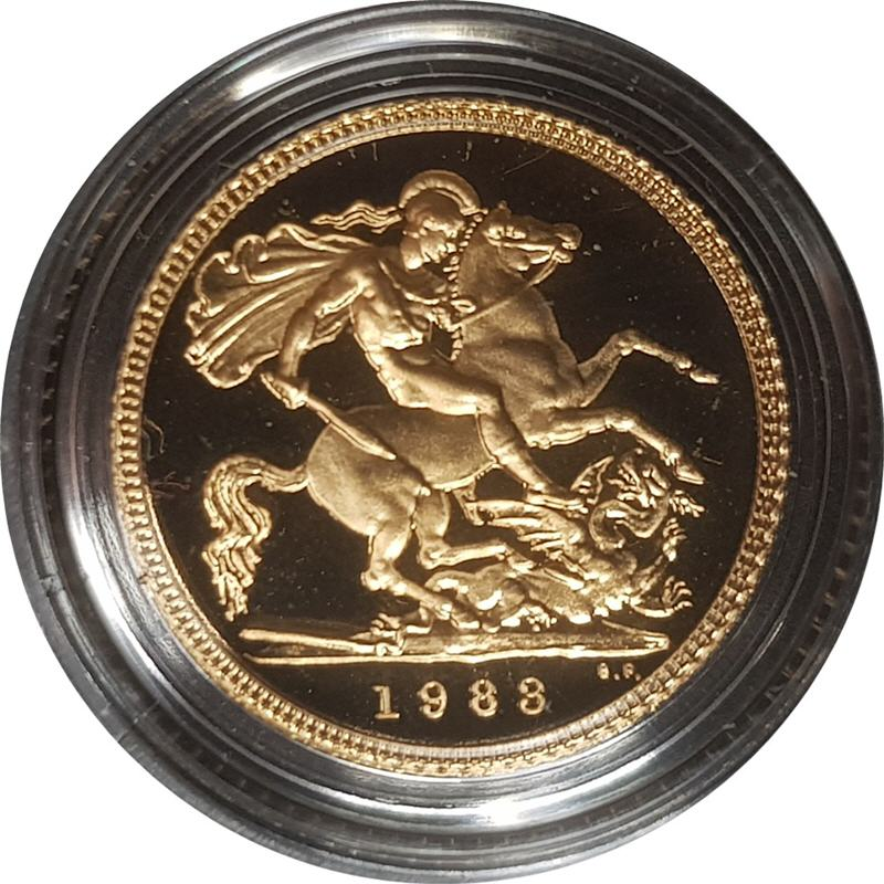 1983 Proof Half-Sovereign