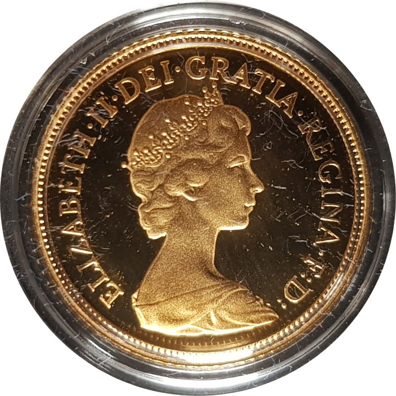 1984 Proof Half-Sovereign