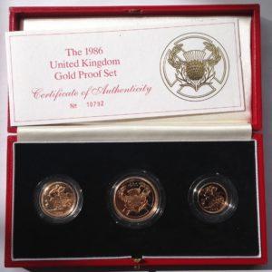 3 Coin Sovereign Sets