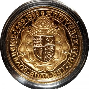 1989 Gold Proof Half-Sovereign