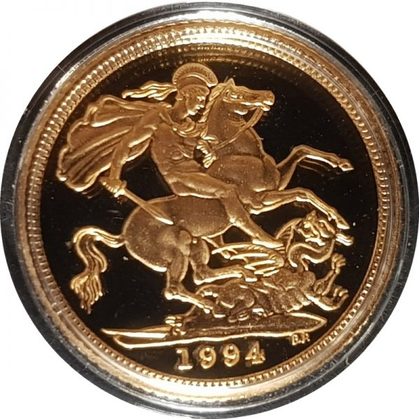 1994 Gold Proof Half-Sovereign