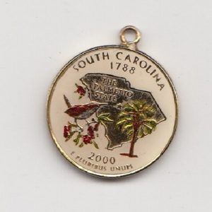 2000 United States South Carolina Enamelled Quarter Dollar