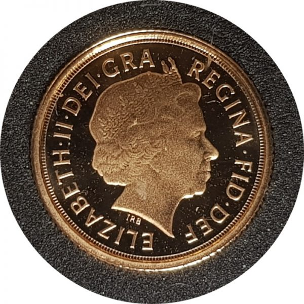 2009 Gold Proof Quarter-Sovereign