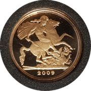 2009 Gold Proof Quarter-Sovereign