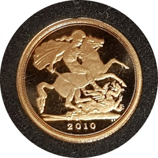2010 Gold Proof Quarter-Sovereign