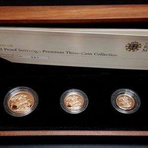 2010 Gold Proof Sovereign Three Coin Collection