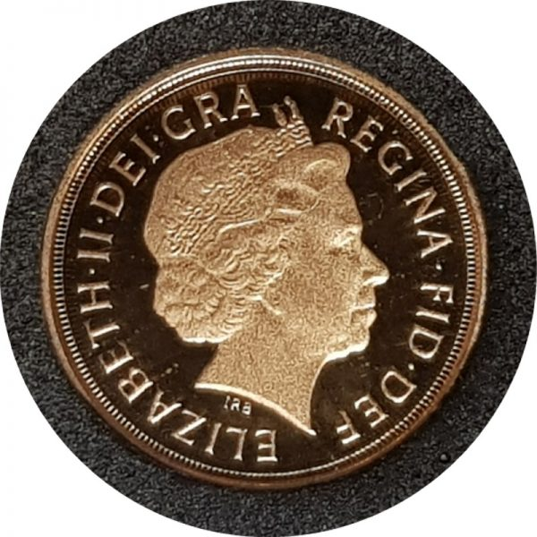 2012 Gold Proof Quarter-Sovereign