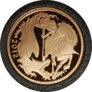 2012 Gold Proof Quarter-Sovereign