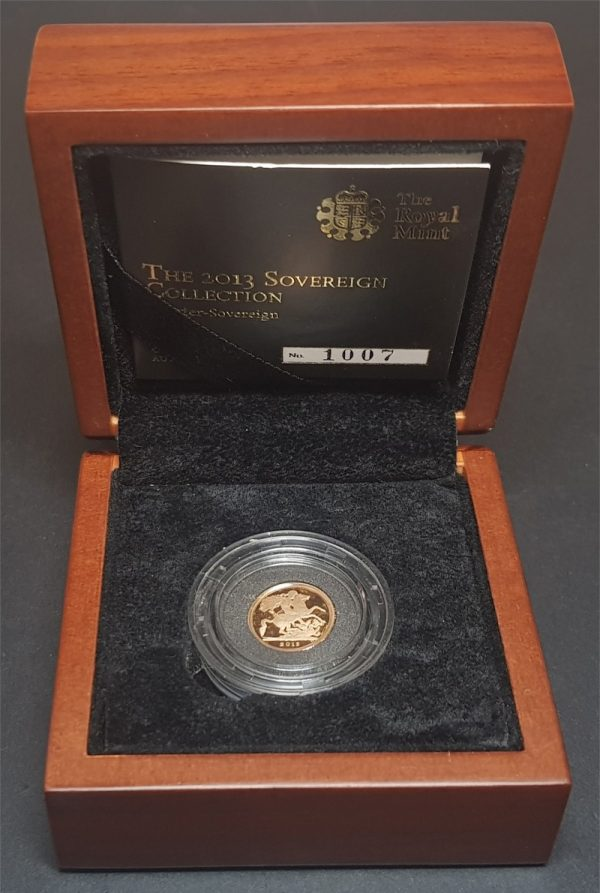2013 Gold Proof Quarter-Sovereign
