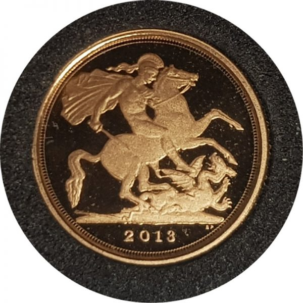 2013 Gold Proof Quarter-Sovereign