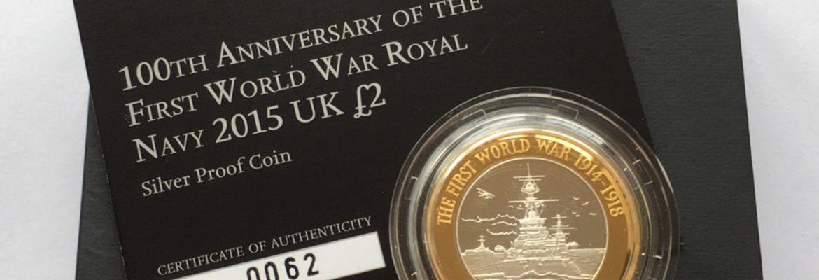 2015 Silver Two Pound Proof The Royal Navy Box
