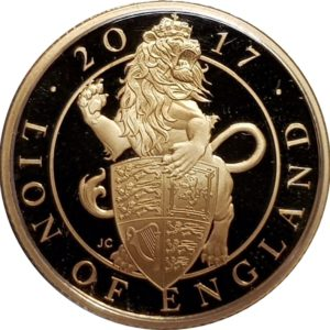The Queens Beasts Gold Coins
