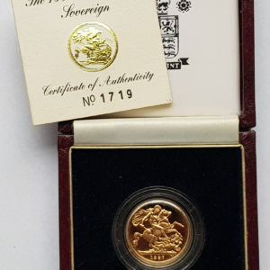 1997 Gold Proof Sovereign