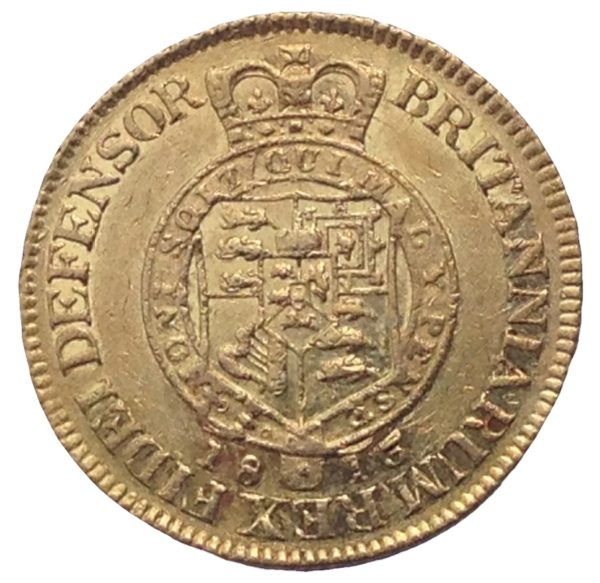 1813 George III Gold 'Military' Guinea Reverse