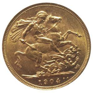 1904 Melbourne Sovereign