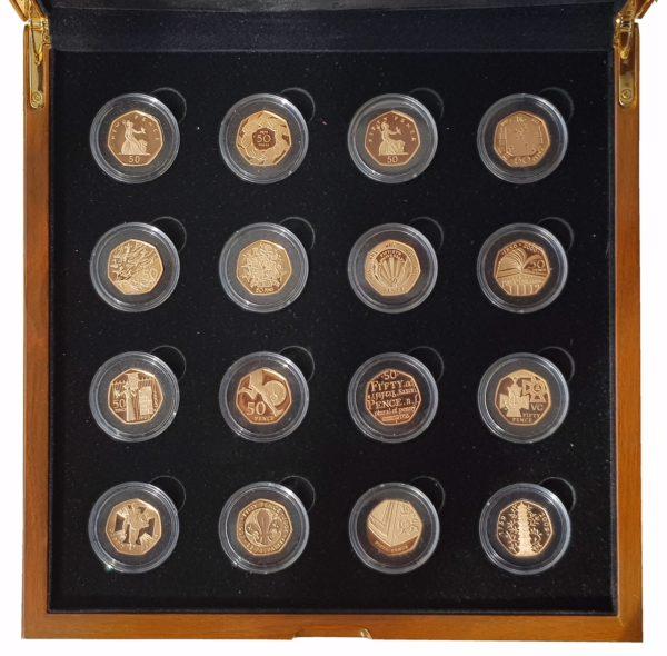 2009 16 Coin 50p Set