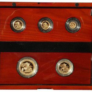 5 Coin Sovereign Sets