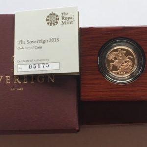2018 Gold Proof Sovereign