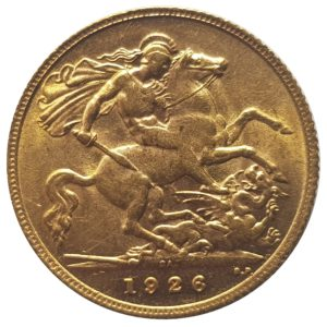 1926 South Africa Half Sovereign