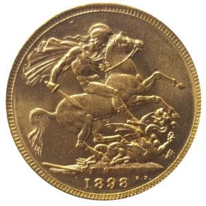 1898 Melbourne Sovereign