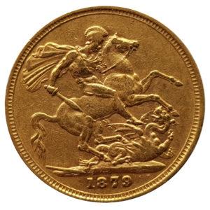 1879 Melbourne Sovereign