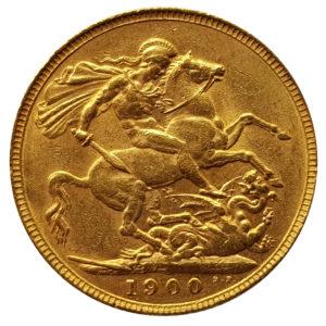 1900 London Sovereign