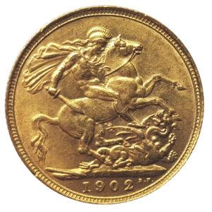 1902 London Sovereign