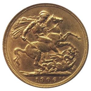 1906 London Sovereign