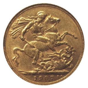 1907 London Sovereign