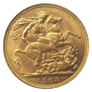 1908 London Sovereign