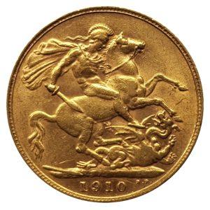 1910 London Sovereign