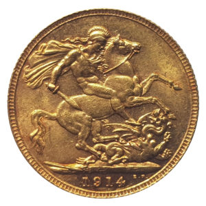 1914 London Sovereign