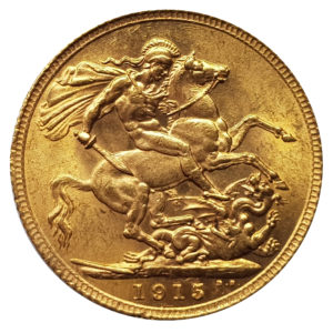 1915 London Sovereign