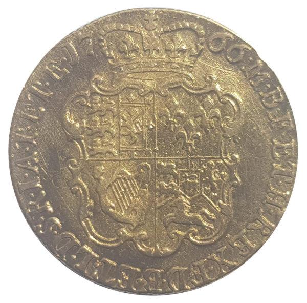 1766 Guinea Reverse