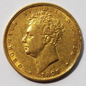 King George IV Sovereigns