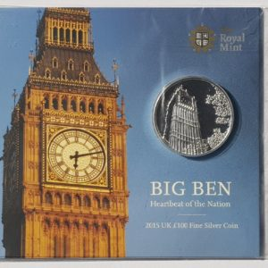 2015 Big Ben Silver One Hundred Pounds