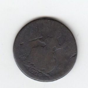 1720 King George Farthing